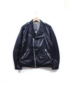 HUMANMADE(ヒューマンメイド)の古着「ナイロンライダース」|BLACK
