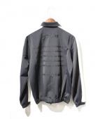 STAMPD(スタンプド)の古着「刺繍トラックジャケット」 ブラック