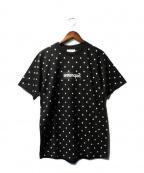 Supreme×COMME des GARCONS SHIRT(シュプリーム × コムデギャルソンシャツ)の古着「ボックスロゴドットTシャツ」 ブラック