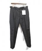 VISVIM(ビスビム)の古着「HIGH-WATER SLACKS/スラックス」|ブラック