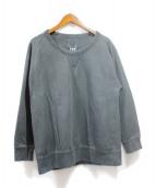 VISVIM(ビスビム)の古着「JUMBO CREW SWEAT L/S /スウェット」|ブラック
