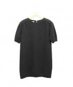 MIUMIU(ミュウミュウ)の古着「ニットワンピース」|ブラック
