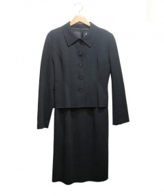 FOXEY BOUTIQUE(フォクシーブティック)の古着「セットアップスーツ」|ライトグレー