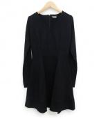 MIU MIU(ミュウミュウ)の古着「ジャージーワンピース」|ブラック