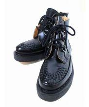Mastermind JAPAN×GEORGE COX(マスターマインドジャパン×ジョージコックス)の古着「ラバーソールブーツ」|ブラック