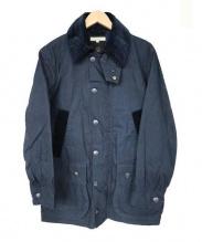 DESCENDANT(ディセンダント)の古着「オイルド風ジャケット」|ネイビー
