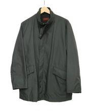 DURBAN(ダーバン)の古着「ジップアップナイロンジャケット」 グレー