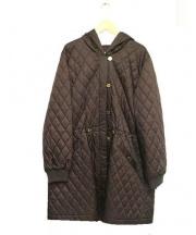 LEONARD SPORT(レオナールスポーツ)の古着「中綿キルティングコート」|ブラウン