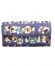 FENDI(フェンディ)の古着「フラップ長財布」|パープル
