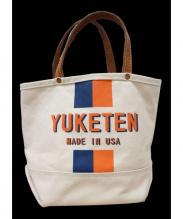 YUKETEN(ユケテン)の古着「キャンバストートバッグ」 アイボリー