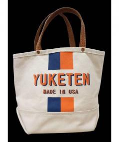 YUKETEN(ユケテン)の古着「キャンバストートバッグ」|アイボリー