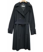 Max Mara(マックスマーラ)の古着「トレンチコート」|ブラック