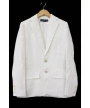 RALPH LAUREN(ラルフローレン)の古着「リネンジャケット」|ホワイト