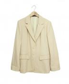 LEONARD(レオナール)の古着「ジャケット」 ベージュ