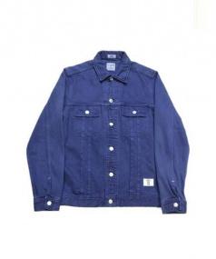 BEDWIN(ベドウィン)の古着「デニムジャケット」|ネイビー