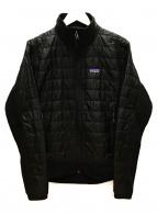 Patagonia(パタゴニア)の古着「ナノパフハイブリッドジャケット」|ブラック