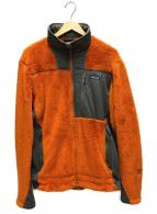 Patagonia(パタゴニア)の古着「ハイロフトR3ジャケット」|オレンジ