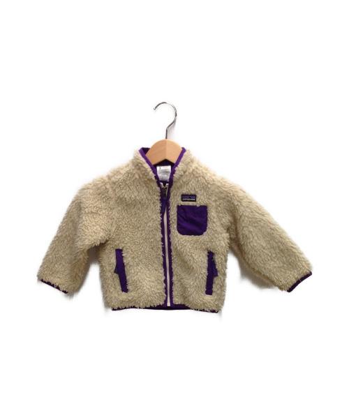 Patagonia(パタゴニア)Patagonia (パタゴニア) ベビーレトロXジャケット ベージュ サイズ:90cm(2T)の古着・服飾アイテム