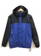 THE NORTH FACE(ザノースフェイス)の古着「カシウストリクライメントジャケット」 ブラック×ブルー