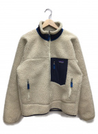 Patagonia(パタゴニア)の古着「フリースジャケット」|ベージュ