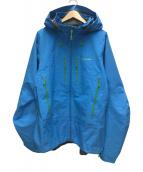 ()の古着「トレリオレットジャケット」|ブルー×グリーン