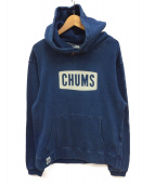 CHUMS(チャムス)の古着「CHUMS Logo Pull Over Parka」|インディゴ