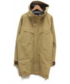 GOLDWIN(ゴールドウィン)の古着「ゴアテックス フーデッドコート」|ベージュ