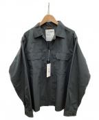 F/CE(エフシーイー)の古着「キーフックシャツジャケット」 ネイビー