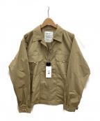 F/CE(エフシーイー)の古着「キーフックシャツジャケット」 ベージュ