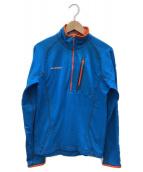 MAMMUT(マムート)の古着「エイスワイドジッププルライト」|ブルー×オレンジ