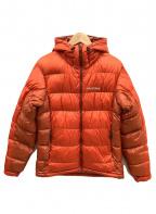 mont-bell(モンベル)の古着「アルパインダウンパーカー」|オレンジ