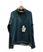 westcomb(ウエストコム)の古着「ハーフジップミドルレイヤー」|グリーン