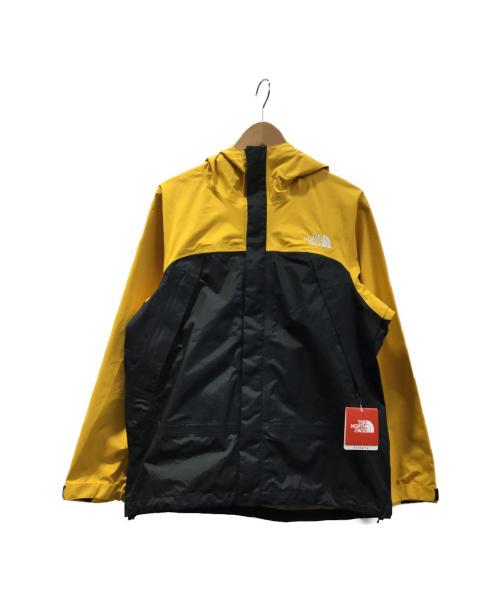 THE NORTH FACE(ザノースフェイス)THE NORTH FACE (ザノースフェイス) ドットショットジャケット イエロー×ブラック サイズ:Mの古着・服飾アイテム