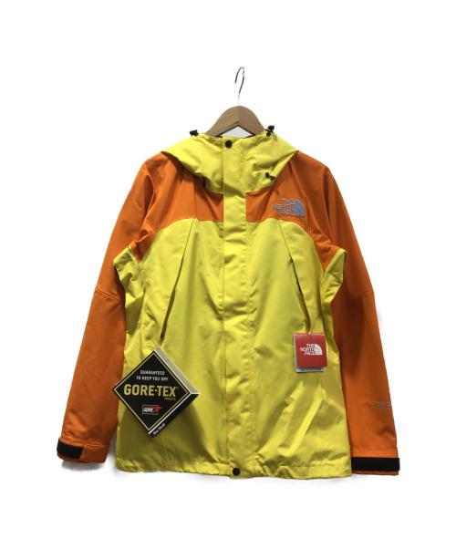 THE NORTH FACE(ザノースフェイス)THE NORTH FACE (ザノースフェイス) マウンテンジャケット オレンジ×イエロー サイズ:Sの古着・服飾アイテム