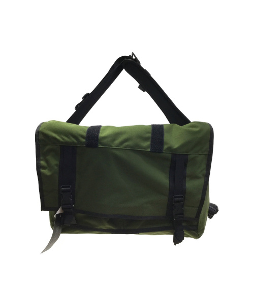 MISSION WORKSHOP(ミッションワークショップ)MISSION WORKSHOP (ミッションワークショップ) THE SHED ROLLTOP BAG グリーンの古着・服飾アイテム
