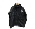 THE NORTH FACE(ザ ノース フェイス)の古着「マウンテンレインテックスジャケット」|ブラック