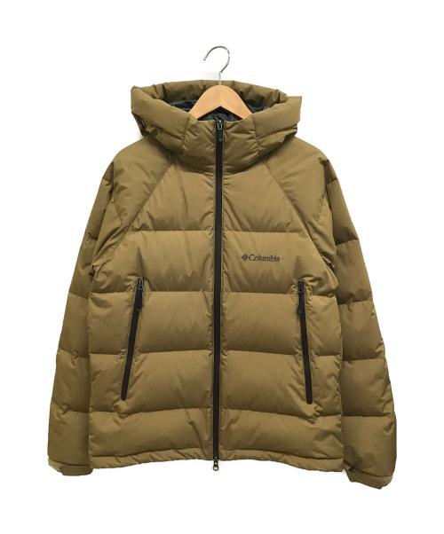 Columbia(コロンビア)Columbia (コロンビア) Vowell Glacier Hoodie カーキ サイズ:S PM5948の古着・服飾アイテム