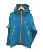 TERNUA(テルヌア)の古着「アセントGTXプロジャケット」|ブルー