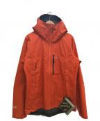MOUNTAIN HARD WEAR(マウンテンハードウェア)の古着「エクスポージャー2ゴアテックスパックライトジャケット」 オレンジ