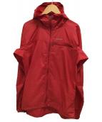 Patagonia(パタゴニア)の古着「Houdini Full-Zip Jacket」|レッド