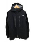 MOUNTAIN HARDWEAR(マウンテンハードウェア)の古着「Winter cohesion Jacket V.2」 ブラック