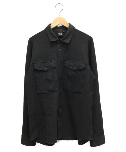 THE NORTH FACE(ザノースフェイス)THE NORTH FACE (ザノースフェイス) INYO SHIRT ブラック サイズ:XL NR61803の古着・服飾アイテム
