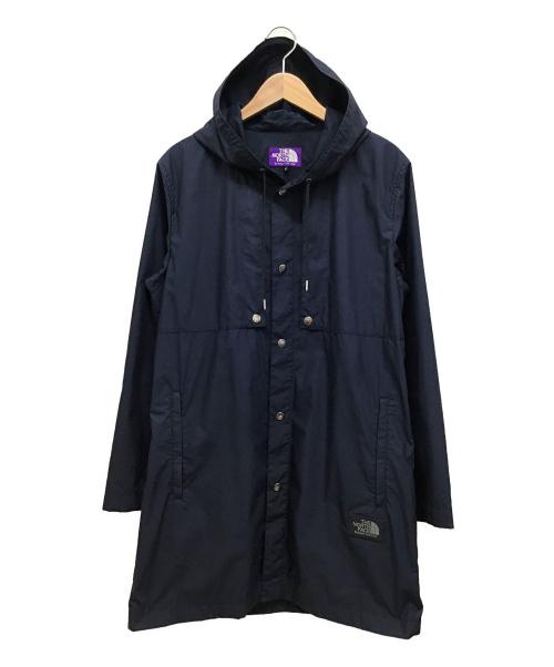 THE NORTHFACE PURPLELABEL(ザノースフェイスパープルレーベル)THE NORTHFACE PURPLELABEL (ザノースフェイスパープルレーベル) Hooded Travel Coat ネイビー サイズ:M NP2706Nの古着・服飾アイテム