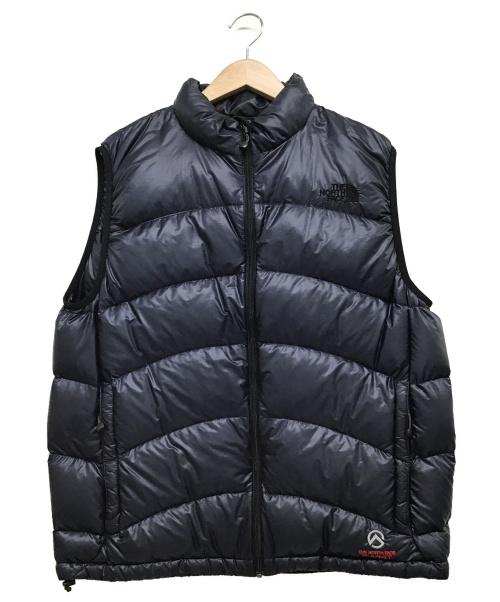 THE NORTH FACE(ザノースフェイス)THE NORTH FACE (ザノースフェイス) ACONCAGUA VEST ネイビー サイズ:XL ND18804の古着・服飾アイテム