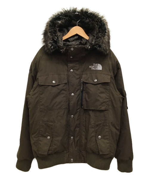 THE NORTH FACE(ザノースフェイス)THE NORTH FACE (ザノースフェイス) GOTHAM JACKET ブラウン サイズ:M ND01557の古着・服飾アイテム
