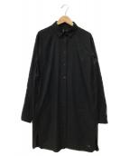 ()の古着「コンテンタ LS シャツ」 ブラック