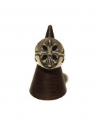 Gabor(ガボール)の古着「Cross oval signet ring/リング」 シルバー