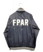 FPAR(フォーティーパーセンツ アゲインストライツ)の古着「ベンチジャケット」 ネイビー