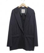FAD3(ファドスリー)の古着「テーラードジャケット」 ネイビー