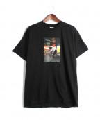 Supreme×COMME des GARCONS SHIRT(シュプリーム × コムデギャルソンシャツ)の古着「HAROLD HUNTER TEE/プリントTシャツ」 ブラック
